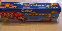 Collectors Toy - 2000 GETTY TRANSFORMING TRUCK (MIB)