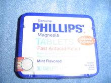 GENUINE PHILLIPS MAGNESIA TABLET TIN