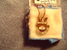 Military - Army 10 Year Service Award Pin
