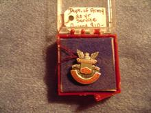 Military - Army 20 Year Service Award Pin
