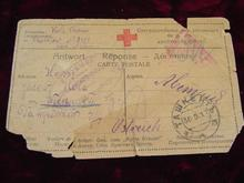Medical - 1917 Red Cross Post Card