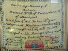 1896 English Sampler - In Memory of ...