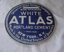 Universal Atlas Cement Co.-Non-Staining White..