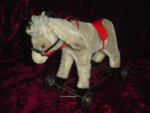 Hermann - 28cm Donkey on Wheels