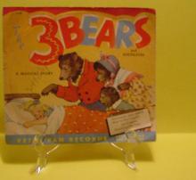 Peter Pan 45 RPM  - The Three Bears, etc.