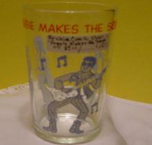 Cartoon Drinking Glass:  1971 Archie Comics