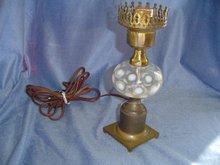 Coin Dot Boudoir Lamp