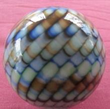 LG. GIBSON GLASS CO. - SNAKESKIN MARBLE