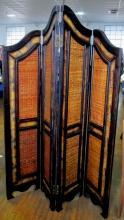 Early 1900's Four Panel Folding Screen