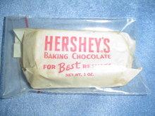HERSHEY'S BAKING CHOCOLATE BLOCK