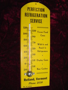 PERFECTION REFRIGERATION SERVICE THERMOMETER