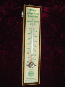PROSPECT SAVINGS & LOAN  ASST. THERMOMETER