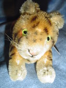 STEIFF - JOINTED 10cm JUNG TIGER
