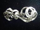 SS/MARCASITE OPEN WORK  PIN