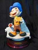 Collectible Florence Italian Giuseppe Armani Figurine Jiminy Cricket In Great Condition