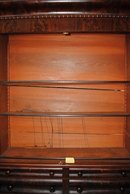Museum Quality Antique American Empire Mahogany Bookcase 7 ft Tall Secretary Circa 1830