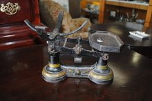 Antique English Gamage Small item Weight Scale Made in London
