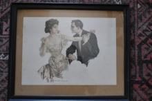 1909 Howard Chandler Chrisay Print