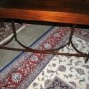 Antique Flaming Mahogany Federal Sheraton Console, Sofa Table
