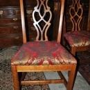 4 Mahogany Side Dining Chairs Chippendale Style Circa 1940s