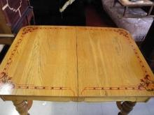 Antique Pennsylvania Dutch, Oak, Dining Set, 1940's Dinette Table Chairs, Rare!