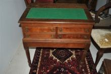 Fantastic Antique Victorian Walnut Spool Cabinet Table Desk Circa 1880's