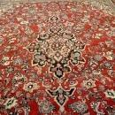 Large Antique Kork Wool Persian Saroukk Area Rug 14x11