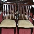 New Drexel Heritage Set of 6 Slat Back Dining Chair Set Taupe Retail $3000