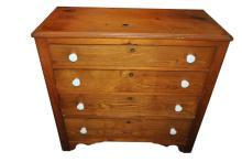 Antique Hand Made Pennsylvania Chest of Drawers Circa 1850