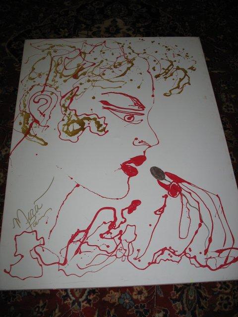 """Mira Paris Original Painting, """"Connoisseur"""