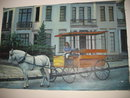 Carriage Ride in Savannah Oil Painting