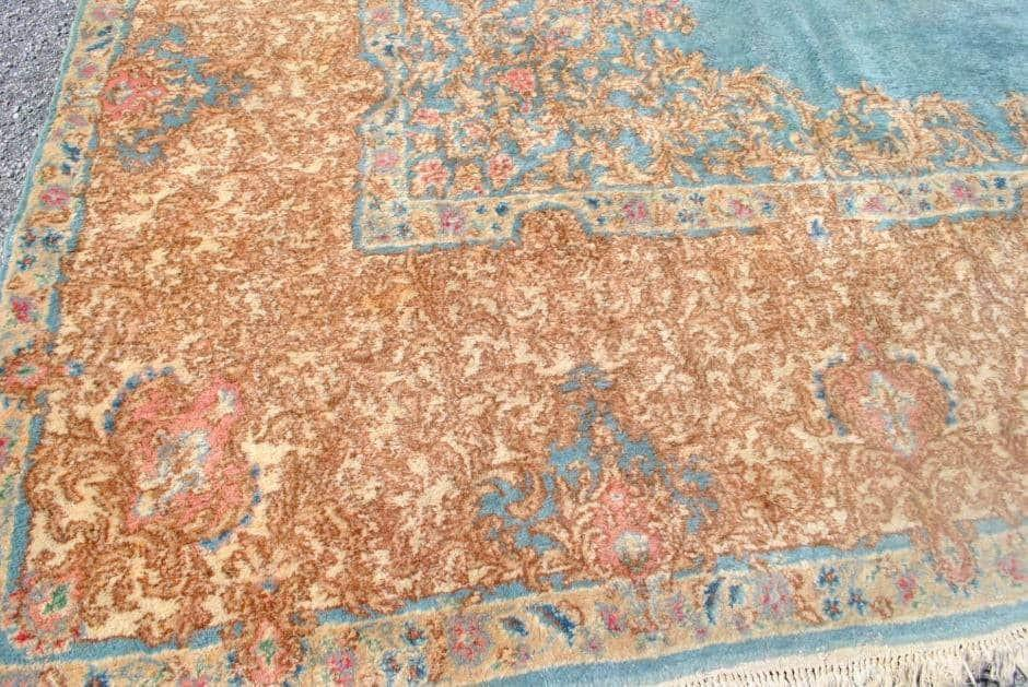 Intensely Beautiful Hand Knotted Kirman Palace Persian Rug 11 ft x 19 ft