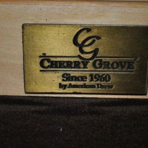 Showroom Sample American Drew Cherry Grove New Generation Triple Dresser 091-130 & Mirror 091-041, PA4567