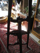 Easel, Solid Mahogany, Hand Carved, Elegant, Very Nice. Like New