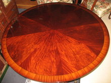 "Leighton Hall 60"" Round Dining Table or Conference Table, American Made, Retails $6,000"