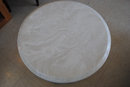 Marble Top, Carved Acanthus Leaf  Legs, Side Table, Lamp Table, Center or Occasional Table