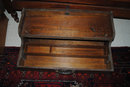 Vintage Tackle Box, Solid Oak, Very Rare!