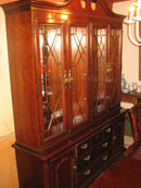Thomasville Cherry Dining Set, 9+Ft. Dining Table, 8 Chairs, China Cabinet, Sideboard. Retails $10,000+