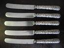 S. Kirk & Son Repousse Sterling Silver Flatware Set, 23 Pieces