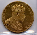 1901 Canada Edward VII Crowned Pattern Dollar in Copper Proof, Crown Sized