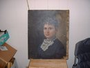 1881 California School Portrait Oil Painting by Josiah Prescott