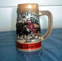 1987 Budweiser beer  stein Series C