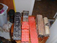 6 Vintage Lionel Trains with metal wheels