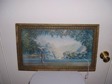 1920's Robert Wood English Fantasy Landscape Lithograph