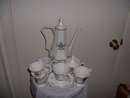 1950's Independence Stoneware by Castleton made in Japan tea set complete with four cups/saucers