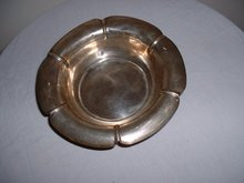 1920's Art Deco Solid Sterling Silver Ashtray