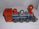 Vintage 1950's? cast iron train locomotive