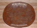 Vintage 1960's New Orleans souvenir oval plate