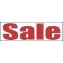 NEW 3x10 foot white 2xStitch Vinyl SALE banner Grommets