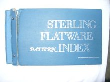 JewelerCircularKeystone Sterling Flatware Pattern Index